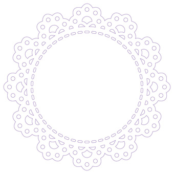 Round lace (drawing)