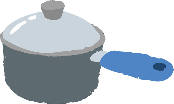 One handed pot (lid)