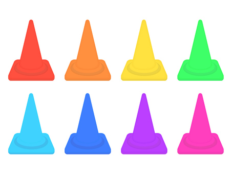 Cone color variation