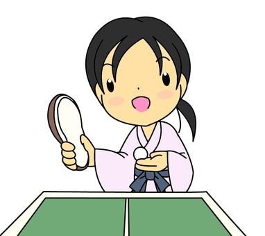 Hot Spring Table Tennis Girls 2