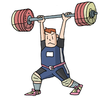 Weight lifting ②