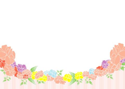 Flower frame 4
