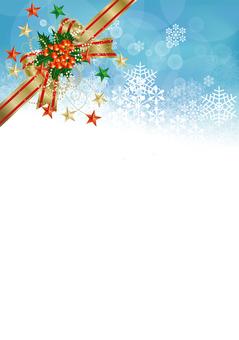Snow Crystal & Ribbon 18