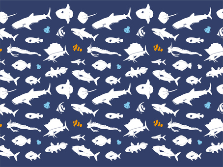 Animal Pattern - Marine Fish