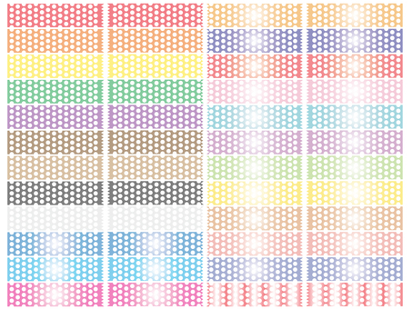 Tape (50% transparent · dot boring)