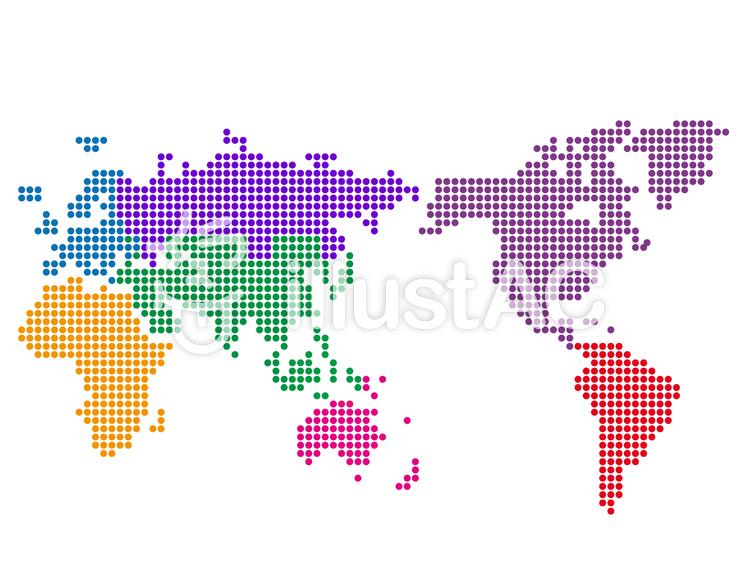 世界地図デフォルメイラスト No 530029無料イラストならイラストac