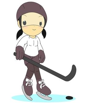 Ice hockey girls