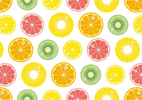 夏季水果壁纸图案