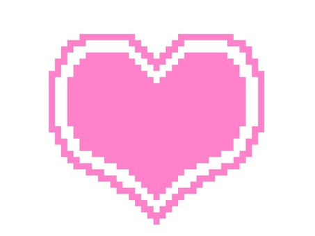 Heart illustration dot picture