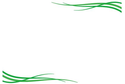 Frame of grass