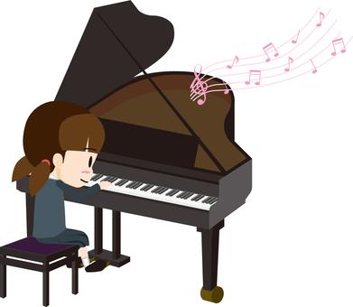 Piano (female student)