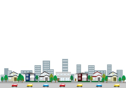 201802_ Housing Illustration Building Available