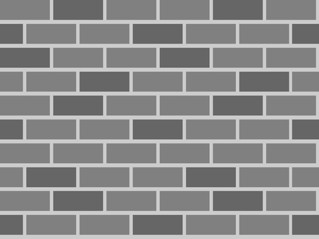 Brick wall (2 color · monochrome)