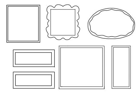 Frame (black and white)