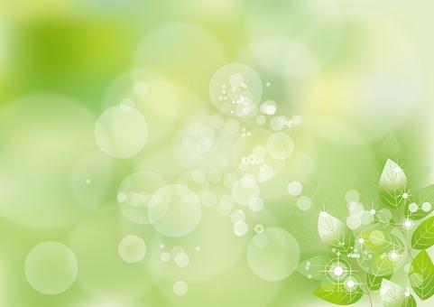 Glittering leaves 11
