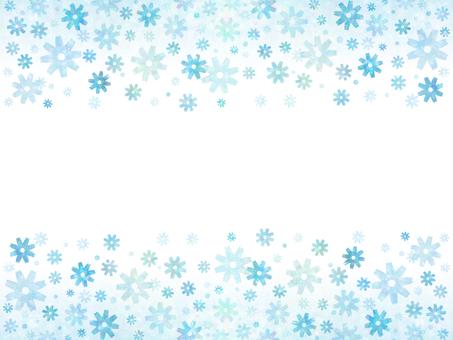 Flower pattern (blue 3)