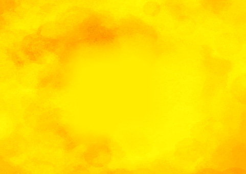 Yellow watercolor texture background material
