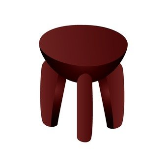 African furniture stool 3