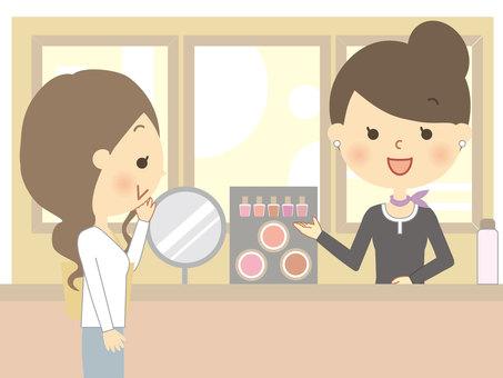 Cosmetics department 2