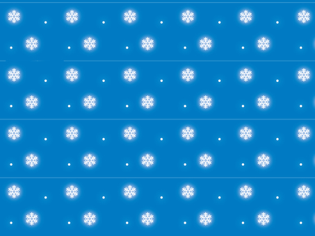 Snowflakes and snow wallpaper blue