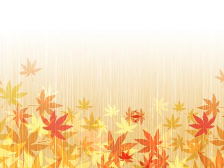 Wood grain autumn leaves background 161001