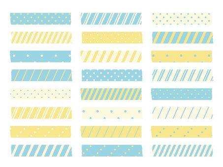 Masking tape (lemon)