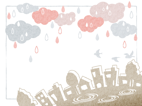 Rainy season illustration 08