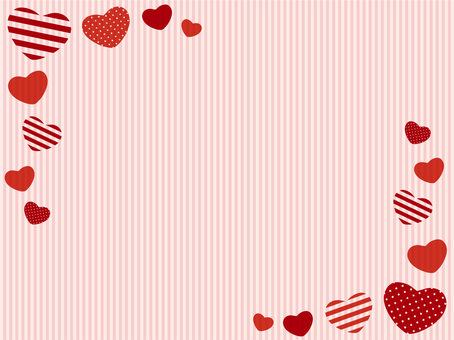 Heart background material