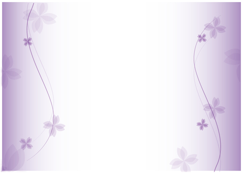 Purple _ flower frame _ sideways
