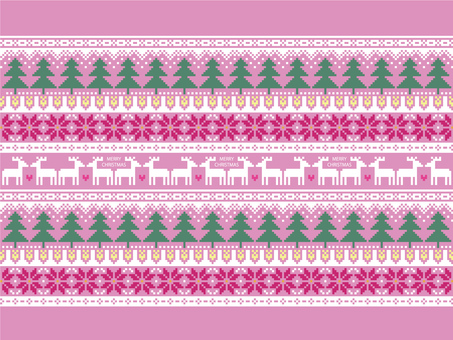 Christmas pattern Nordic style