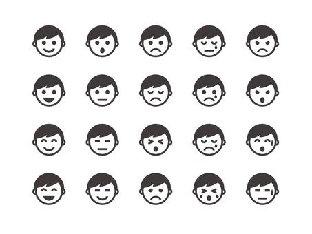 Face icon (boy)