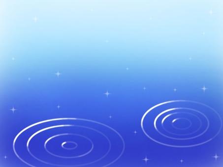 Water ripples gradation