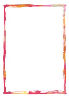 Brush frame ink 02-06