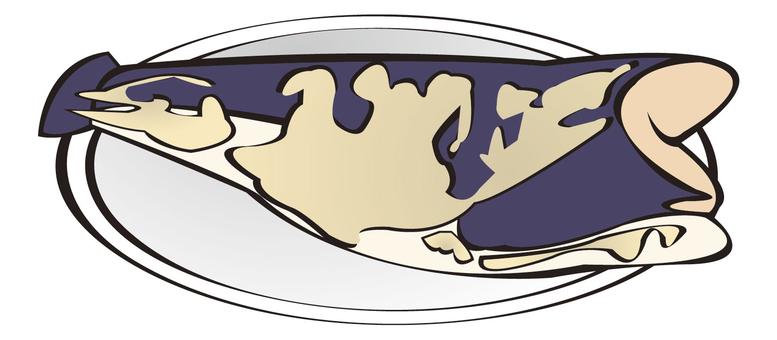 用味噌醃製的魚