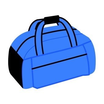 Boston bag (blue)
