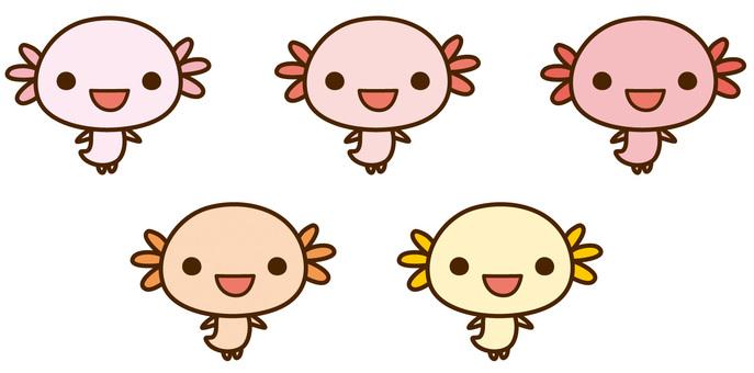 Uoperupa cute character