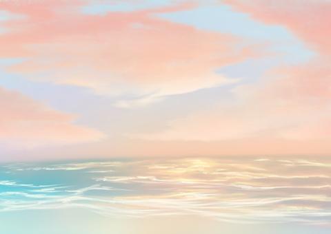 A warm sea