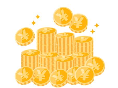 A coin like a mountain (circle)