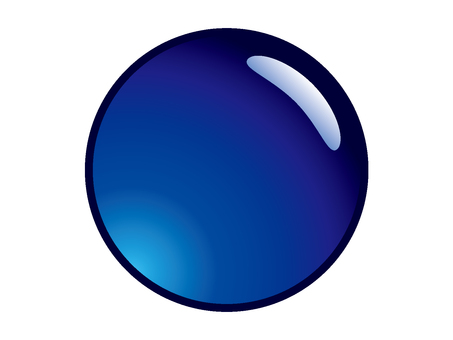 Circle _ blue _ button material