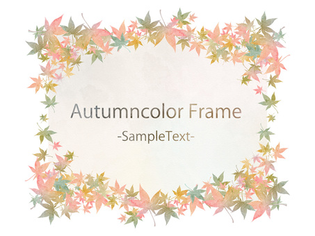 Fall color frame ver 64