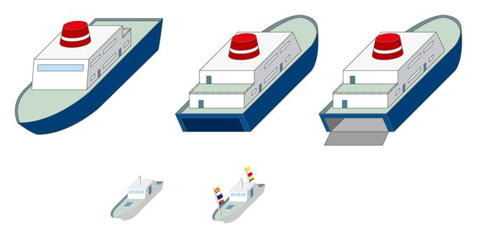 城市系列船