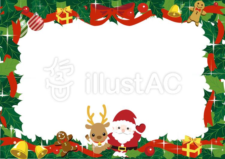クリスマスカードイラスト No 961092無料イラストならイラストac
