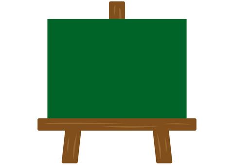 Easel blackboard ③