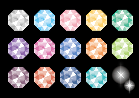 Various diamonds