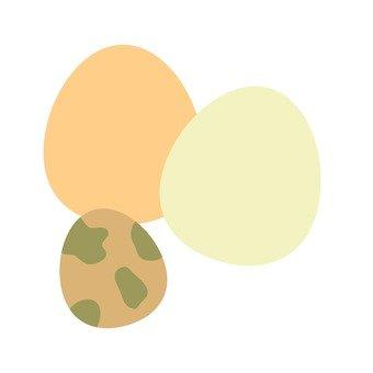 계란 3 종류