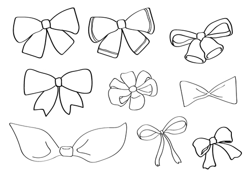 Ribbon monochrome