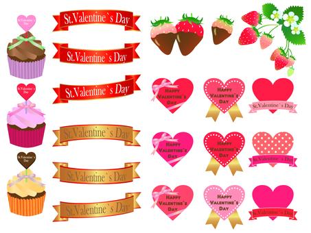 Valentine's image set