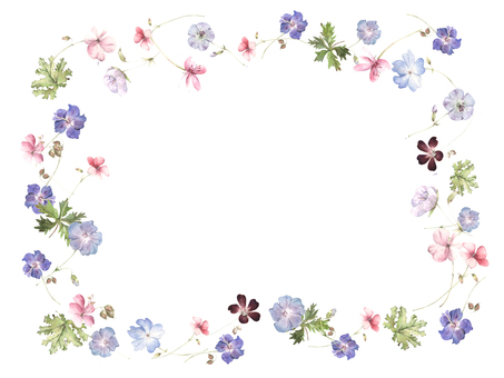 Flower frame 192 - cool decorative frame