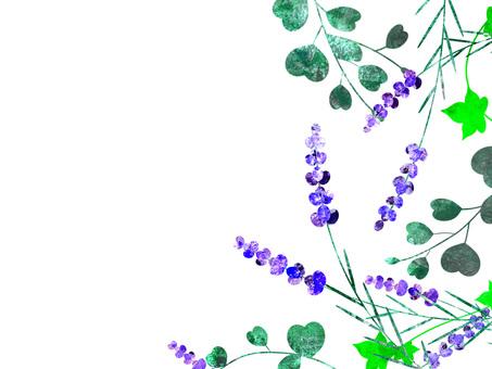 Lavender frame 01