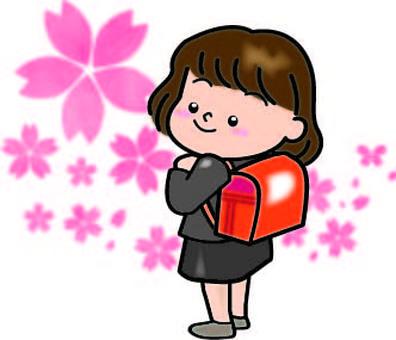 입학 소녀